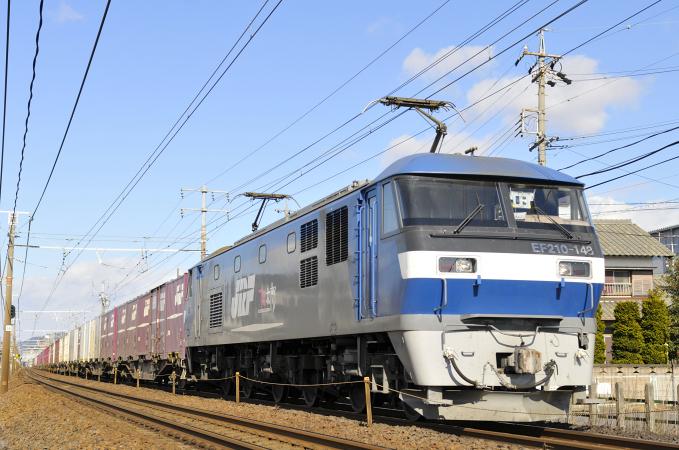 遅れ5070レ EF210-148号機