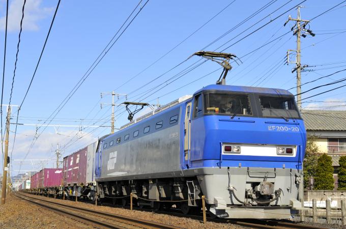 臨8056レ EF200-20号機