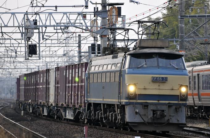 1353レ EF66-31号機【吹】