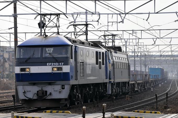 1250レ EF210-17号機【岡】+EF66-52号機【吹】