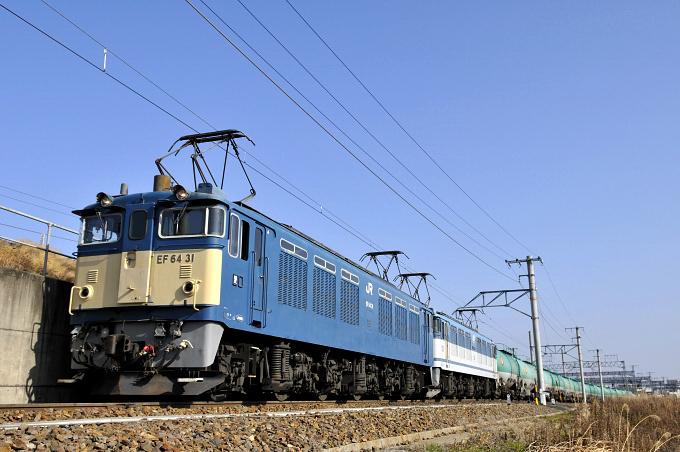 3086レ EF64-31号機