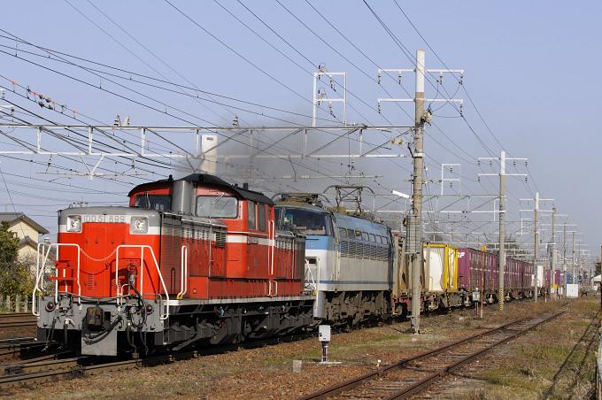 82レ DD51-899号機+EF66-132号機
