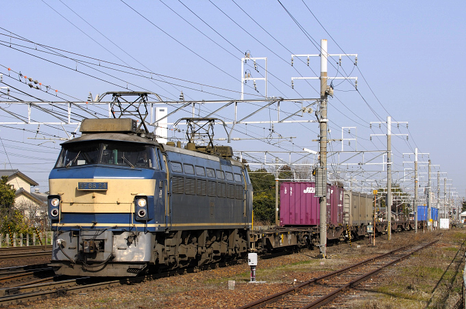 1550レ EF66-24号機