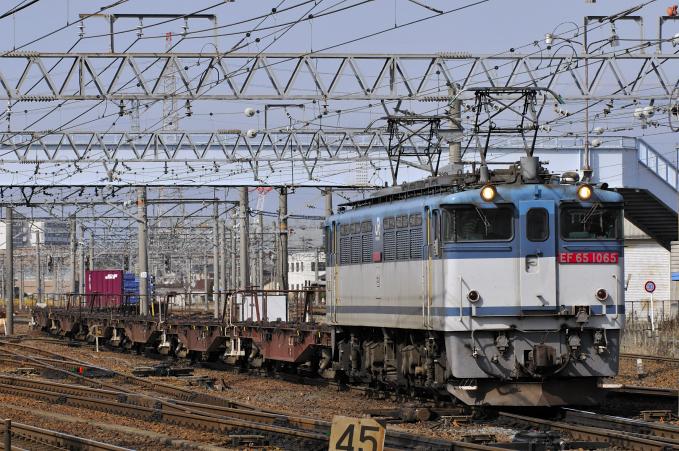 1552レ EF65-1065号機