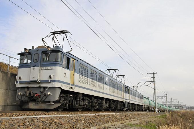 3086レ EF64-74+51号機