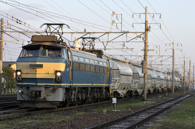 5580レ EF66-34号機