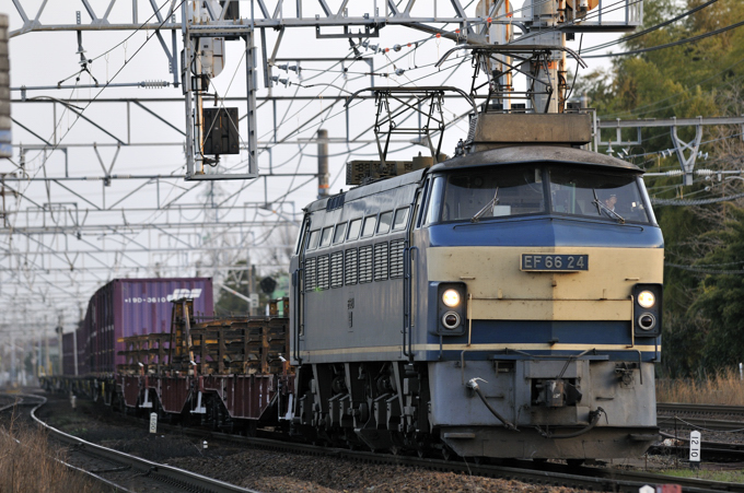 951レ EF66-24号機
