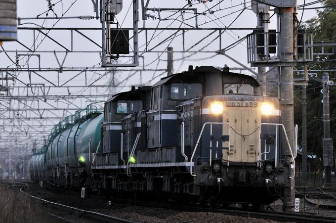 72レ DD51-889+890号機