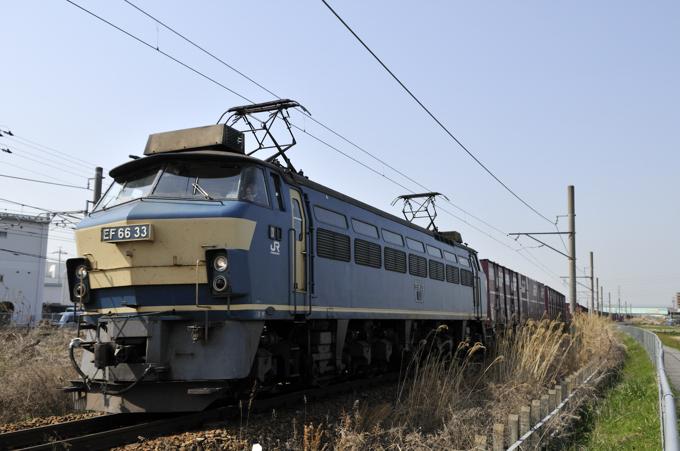 5088レ EF66-33号機