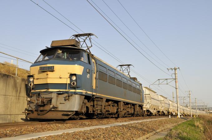 5767レ EF66-24号機