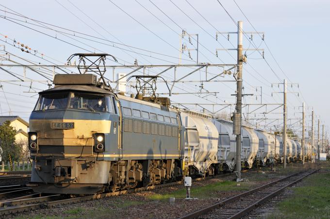 5580レ EF66-52号機