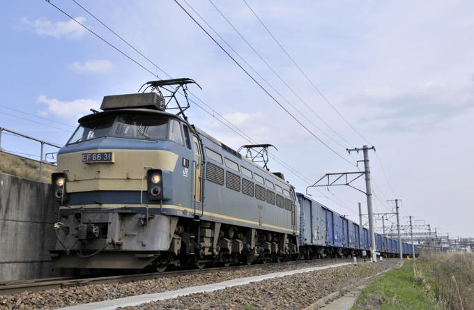 670レ EF66-31号機