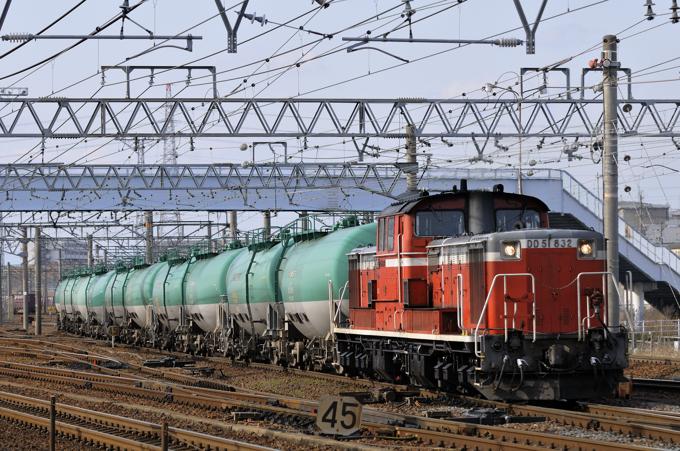 75レ DD51-832号機
