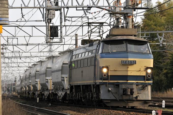 5767レ EF66-52号機