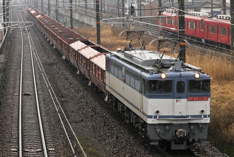 5783レ EF65-1138号機