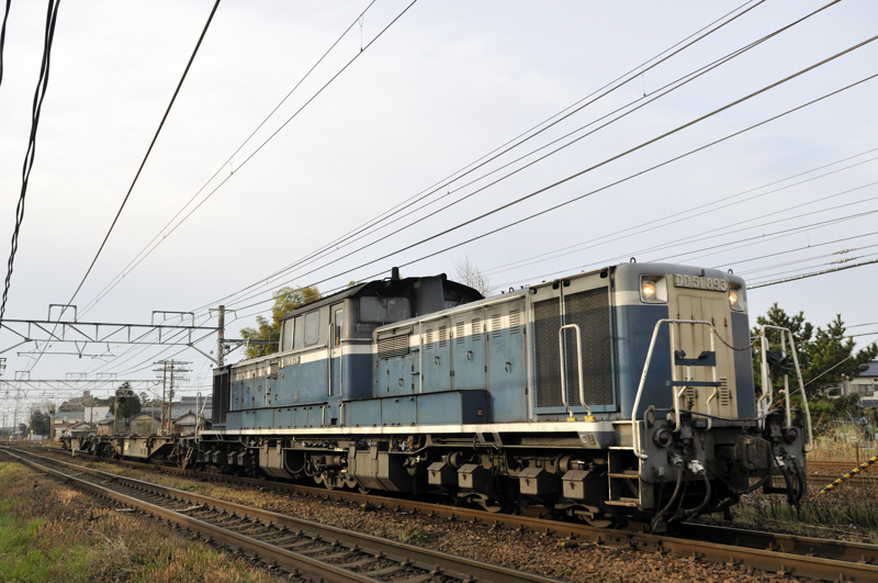 試2751レ DD51-893