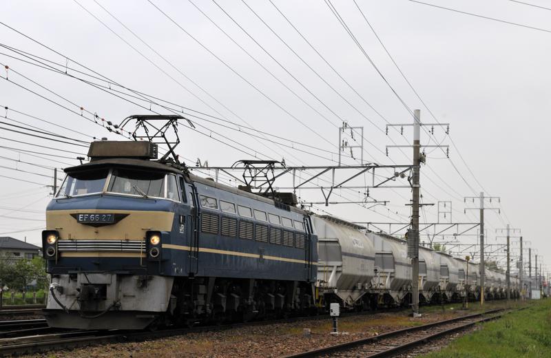 5580レ EF66-27号機