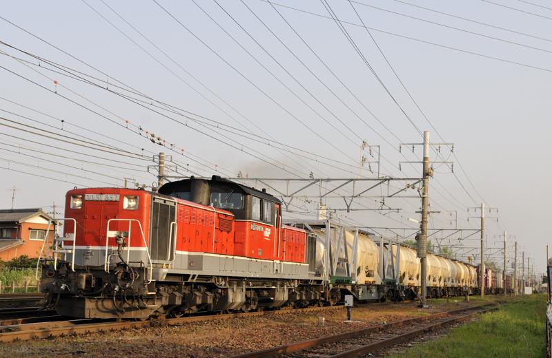 95レ DD51-857号機