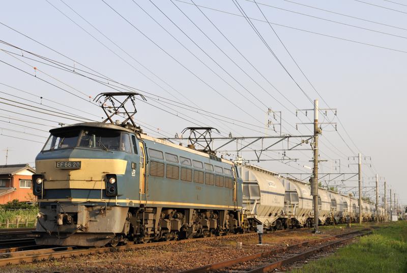 5580レ EF66-20号機