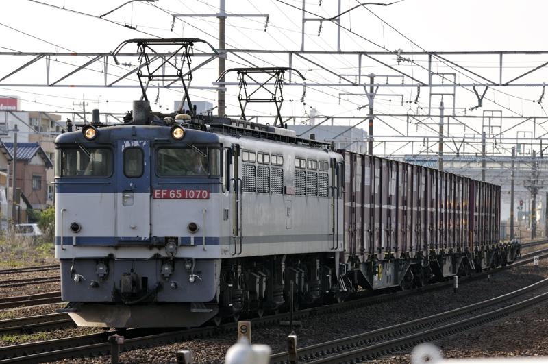 1151レ EF65-1070号機