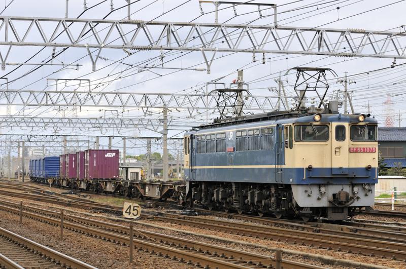 1554レ EF65-1079号機