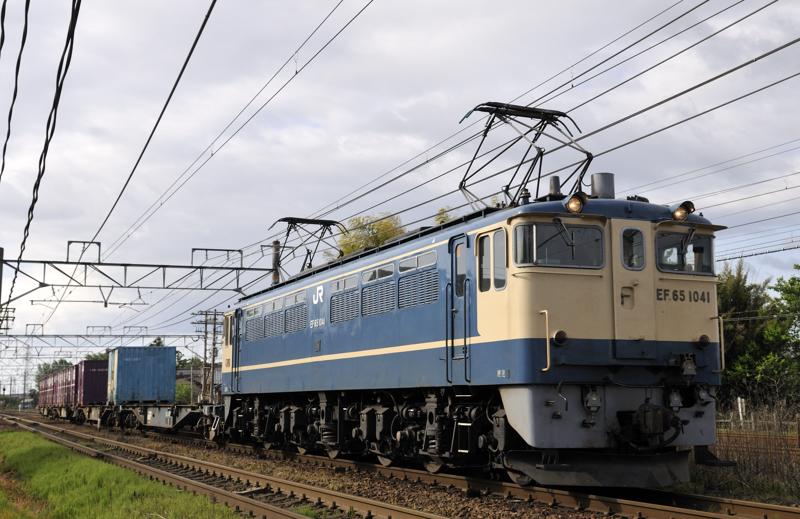 1151レ EF65-1041号機
