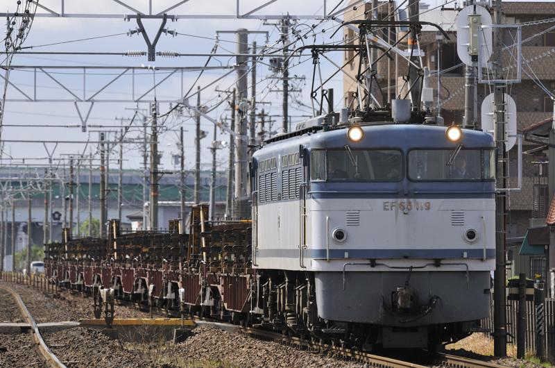 8865レ EF65-119号機