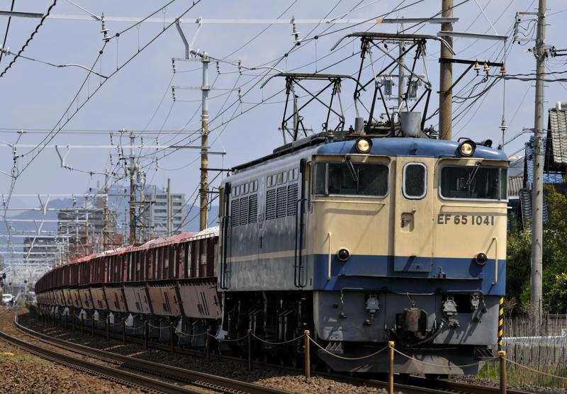 5780レ EF65-1041号機