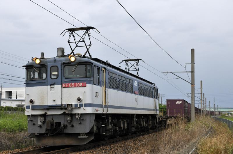 4084レ EF65-1081号機