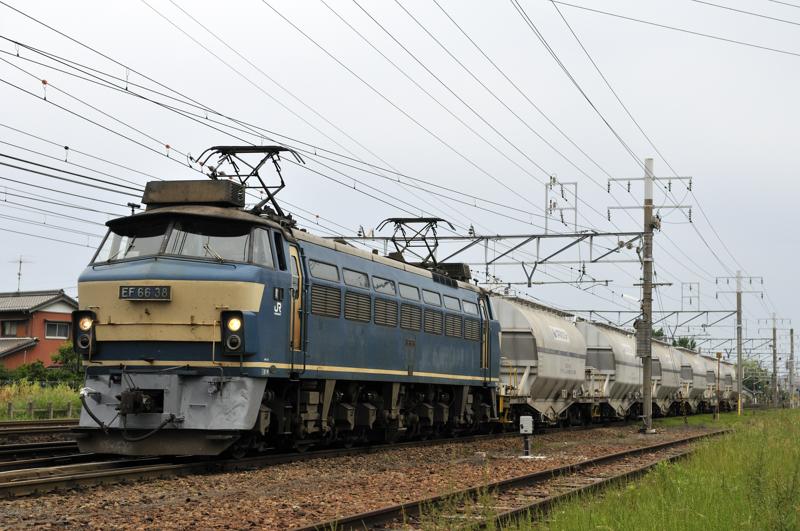 5580レ EF66-38号機
