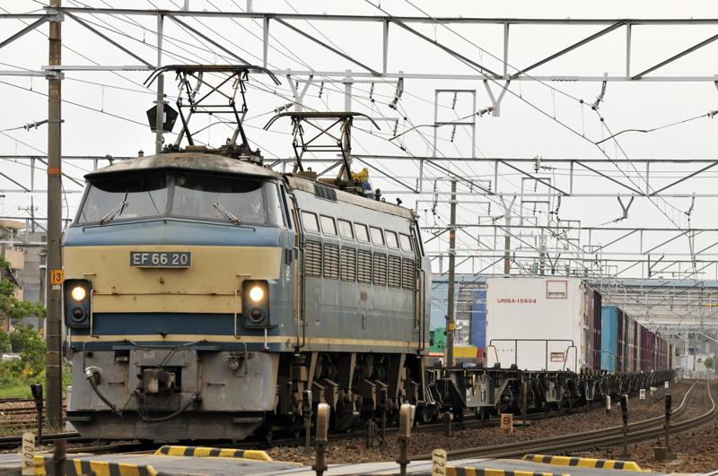 1057レ EF66-20号機