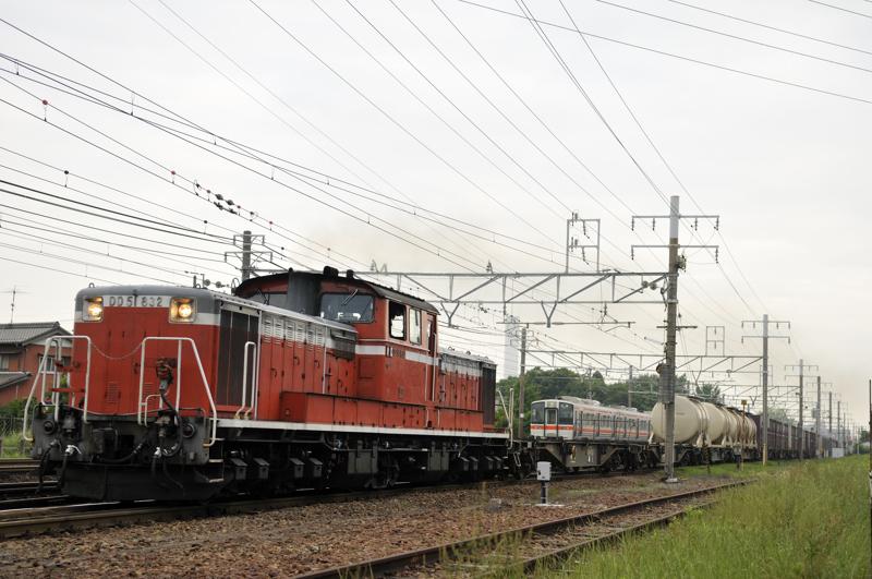 95レ DD51-832号機