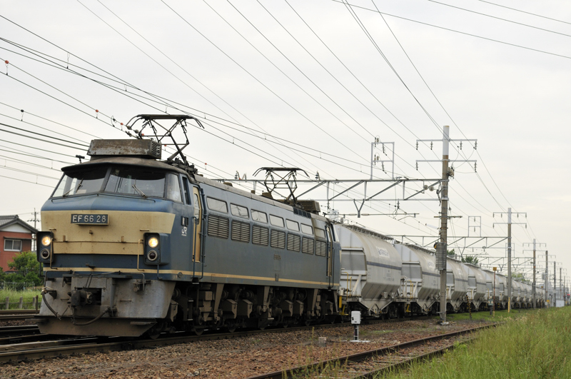 5580レ EF66-28号機