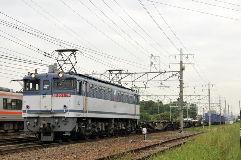 1554レ EF65-1138号機