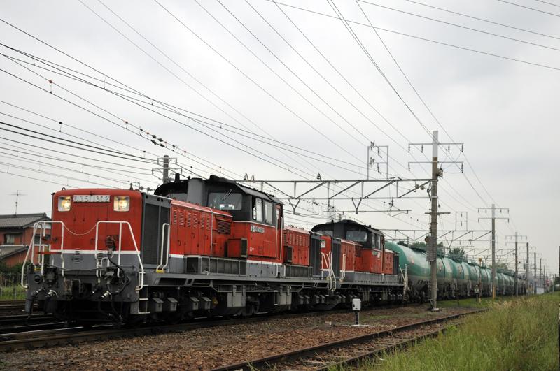 5271レ DD51-1802+1804号機