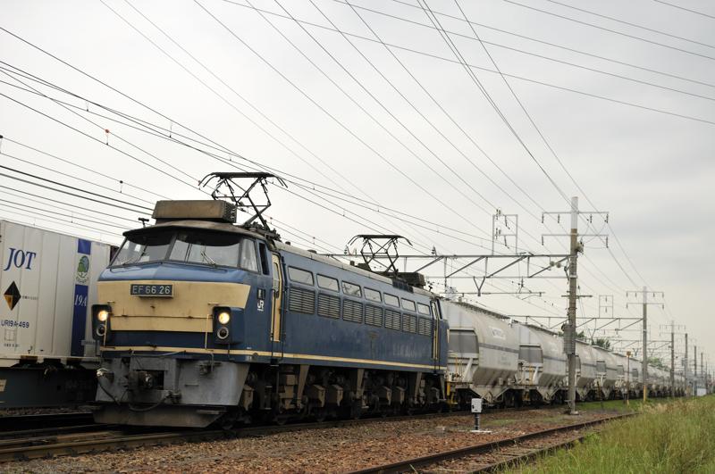 5580レ EF66-26号機