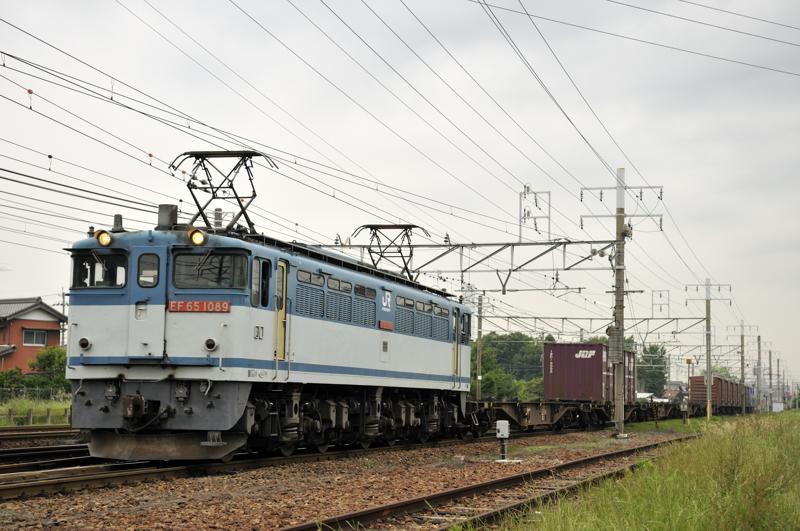 1554レ EF65-1089号機
