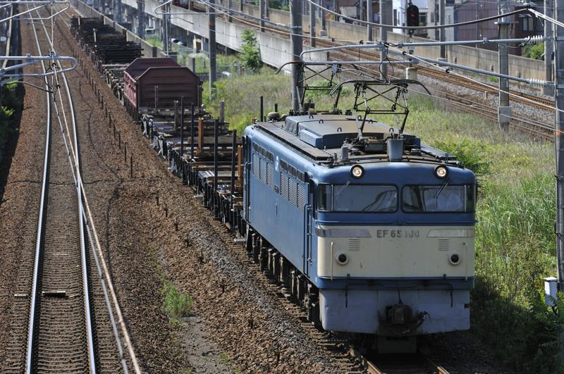8865レ EF65-100号機