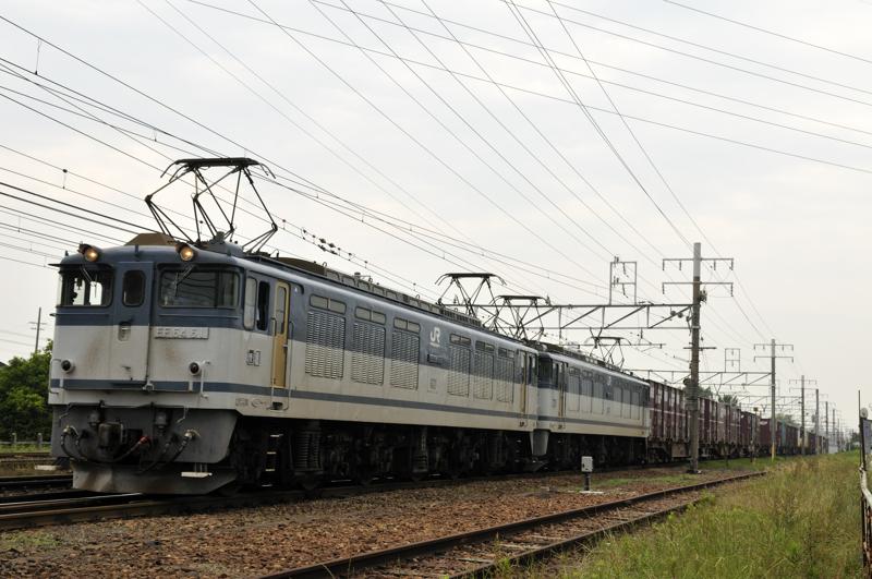 81レ EF64-61+77号機