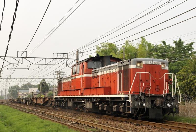 試2751レ DD51-896号機