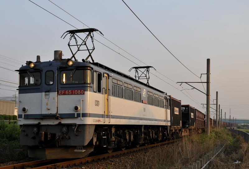 4084レ EF65-1080号機