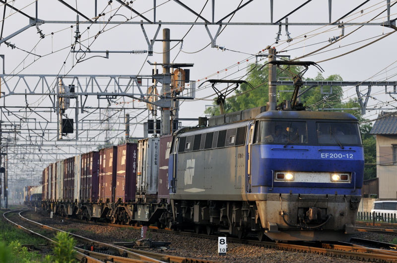 遅延5087レ EF200-12号機