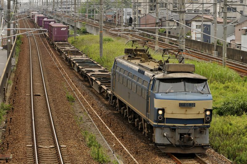 2071レ EF66-32号機