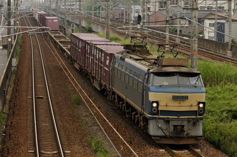 2071レ EF66-25号機