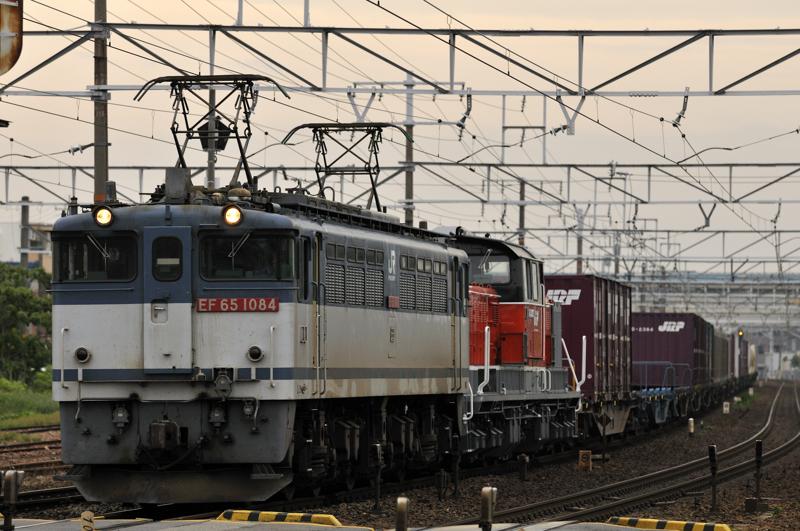 1095レ EF65-1084号機+DD51-893号機ムド
