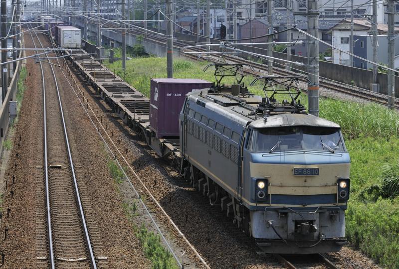 7/14  2071レ EF66-10号機