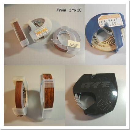 ダイモテープ