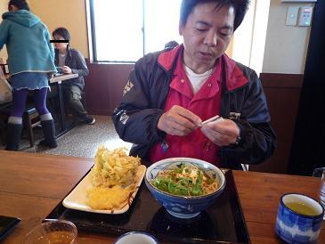 とろ玉うどん+天ぷら