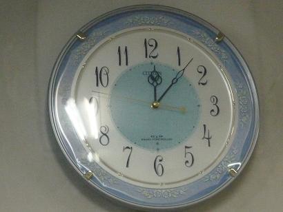 本社の時計