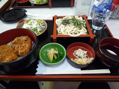 ヒレソースカツ丼セット1